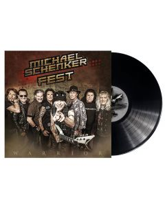 MICHAEL SCHENKER FEST - Warrior - MLP - Black