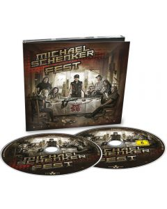 MICHAEL SCHENKER FEST - Resurrection - CD - DIGI plus DVD