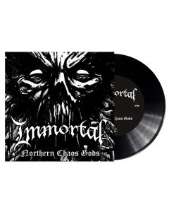 "IMMORTAL - Northern Chaos Gods - 7"" EP - Black"