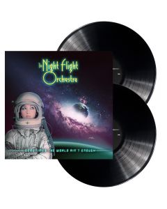 THE NIGHT FLIGHT ORCHESTRA - Sometimes the world ain't enough - 2LP - Black