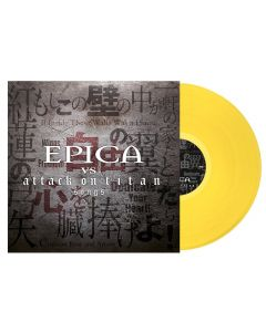 EPICA - Epica vs. Attack on titan songs - LP - Yellow