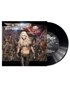 """DORO - All For Metal - 7"""" EP - Black"""