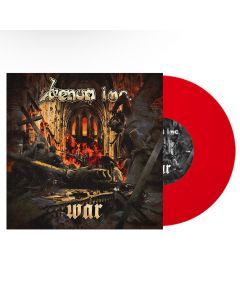 """VENOM INC. - War / Warhead - 10"""" MLP - Red"""