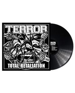 TERROR - Total retaliation - LP - Black