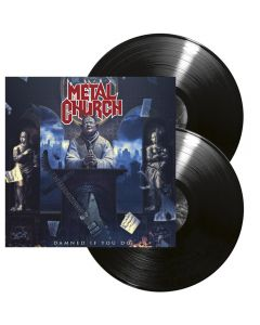 METAL CHURCH - Damned if you do - 2LP - Black