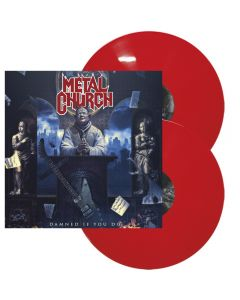 METAL CHURCH - Damned if you do - 2LP - Red