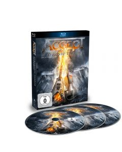 ACCEPT - Symphonic terror - Live at Wacken 2017 - BluRay plus 2CD