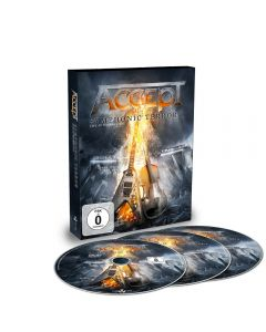 ACCEPT - Symphonic terror - Live at Wacken 2017 - DVD plus 2CD
