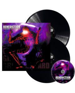 BENEDICTION - Grind Bastard - 2LP - Black plus CD