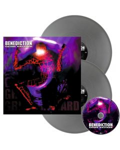 BENEDICTION - Grind Bastard - 2LP - Silver plus CD