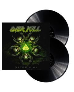 OVERKILL - The wings of war - 2LP - Black