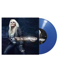"""DORO - Backstage to Heaven - 10"""" MLP - Blue"""