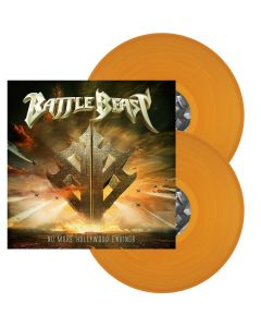 BATTLE BEAST - No more Hollywood endings - 2LP - Orange