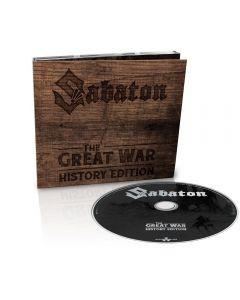 SABATON - The Great War - History Edition - CD - DIGI