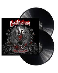 DESTRUCTION - Born to perish - 2LP - Black