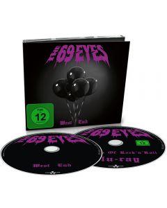 THE 69 EYES - Westend - CD-DIGI plus BluRay