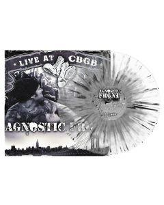 AGNOSTIC FRONT - Live at CBGB - LP - Splatter