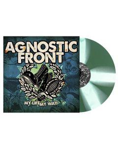 AGNOSTIC FRONT - My Life , May Way - LP - Splatter