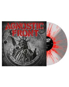 AGNOSTIC FRONT - The American dream died - LP - Splatter