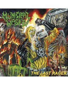 MUNICIPAL WASTE - The Last Rager - Mini - CD