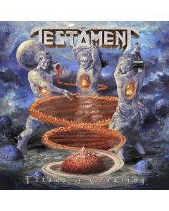 TESTAMENT - Titans of creation - CD