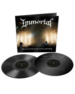 IMMORTAL - The seventh date of Blashyrkh - 2LP - Black