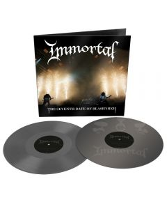 IMMORTAL - The seventh date of Blashyrkh - 2LP - Grey