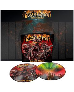 DESTRUCTION - Born to thrash - Live in Germany - 2LP - Picture