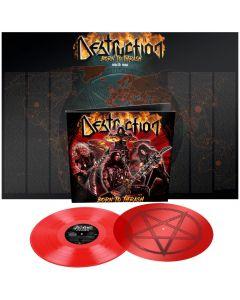 DESTRUCTION - Born to thrash - Live in Germany - 2LP - Transparent Red
