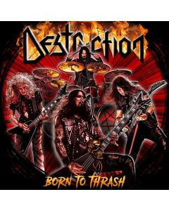 DESTRUCTION - Born to thrash - Live in Germany - CD