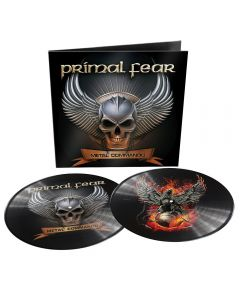 PRIMAL FEAR - Metal commando - 2LP - Picture