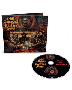 PHIL CAMPBELL AND THE BASTARD SONS - We´re the bastards - CD - DIGI