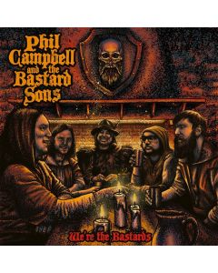 PHIL CAMPBELL AND THE BASTARD SONS - We´re the bastards - CD