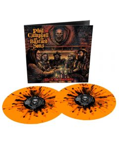 PHIL CAMPBELL AND THE BASTARD SONS - We´re the bastards - 2LP - Splatter - Orange - Black