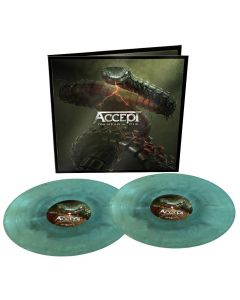 ACCEPT - Too mean to die - 2LP - Swirl - Blue - Green