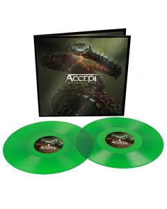 ACCEPT - Too mean to die - 2LP - Bottle Green