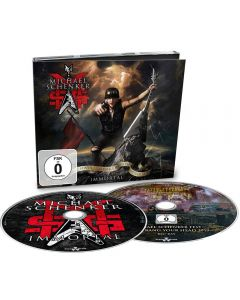 MSG - Michael Schenker Group - Immortal - CD-DIGI plus BluRay