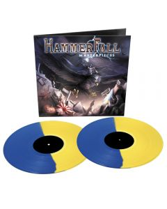 HAMMERFALL - Masterpieces - 2LP - Coloured Yellow Blue