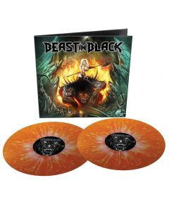 BEAST IN BLACK - From hell with love - 2LP - Orange-White Splatter