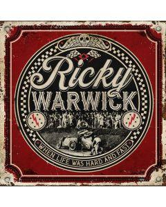 RICKY WARWICK - When life was hard & fast - CD