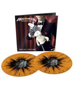 HELLOWEEN - Rabbit Don't Come Easy - 2LP - Splatter - Orange Black
