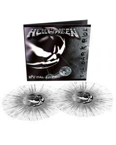 HELLOWEEN - The Dark Ride - 2LP - Splatter - transparent grey