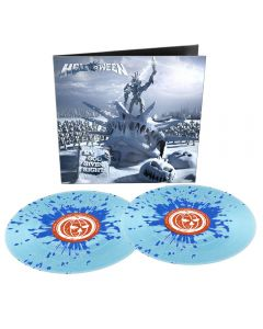 HELLOWEEN - My God - Given Right - 2LP - Splatter Blue