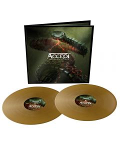 ACCEPT - Too mean to die - 2LP - Gold