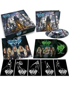 BURNING WITCHES - The Witch of the North - CD - Boxset