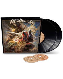 HELLOWEEN - Helloween - EARBOOK - 2LP - Black plus 2 CD