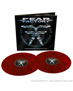FEAR FACTORY - Aggression continuum - 2LP - Marbled - Clear - Red - Black