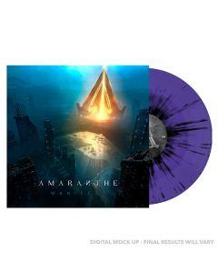 AMARANTHE - Manifest - LP - Splatter - Purple - Black