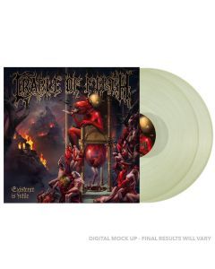 CRADLE OF FILTH - Existence is futile - 2LP - Glow in The Dark