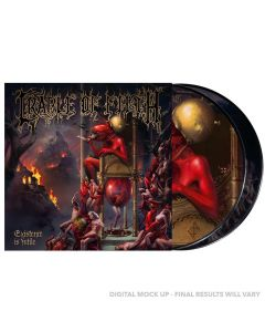 CRADLE OF FILTH - Existence is futile - 2LP - Picture